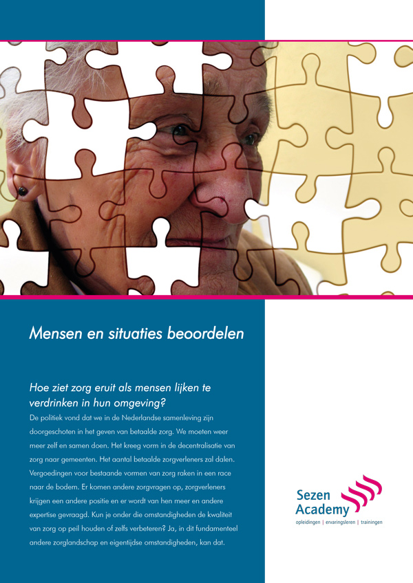 Front brochure zorg