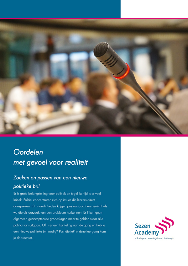 Front brochure politici